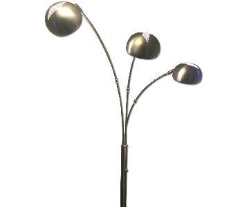 3 Light Arc Floor Lamp
