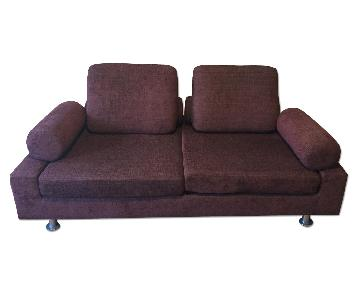 Shermag Normand Couture Cameleon Modern Convertible Sofa