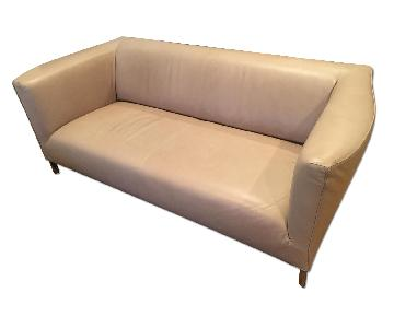 Molteni Natural Leather Breeze Sofa