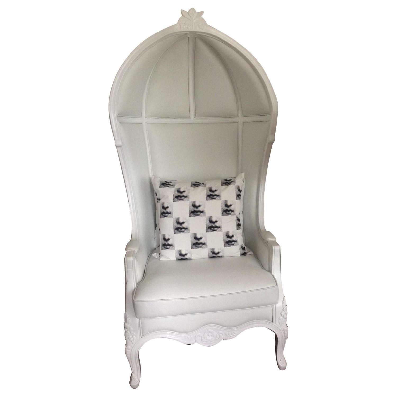 Modani Modern White Enzo Armchair