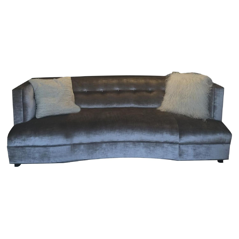 Mitchell Gold + Bob Williams Velvet Dumont Sofa - image-4