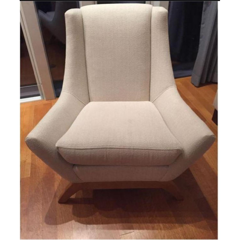ABC Carpet & Home Dwell Studio Jensen Oatmeal Armchair - image-1