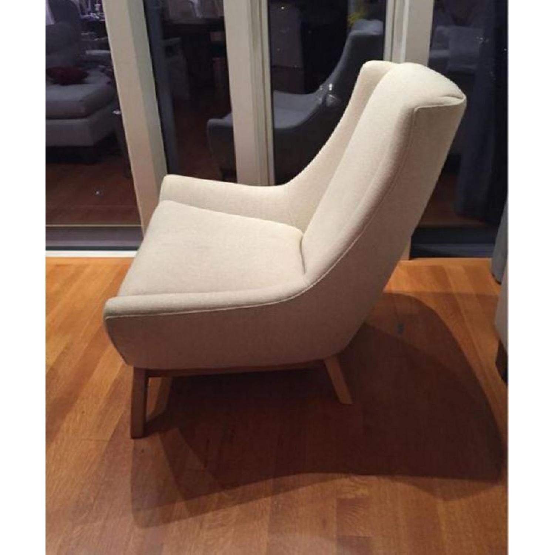 ABC Carpet & Home Dwell Studio Jensen Oatmeal Armchair - image-3