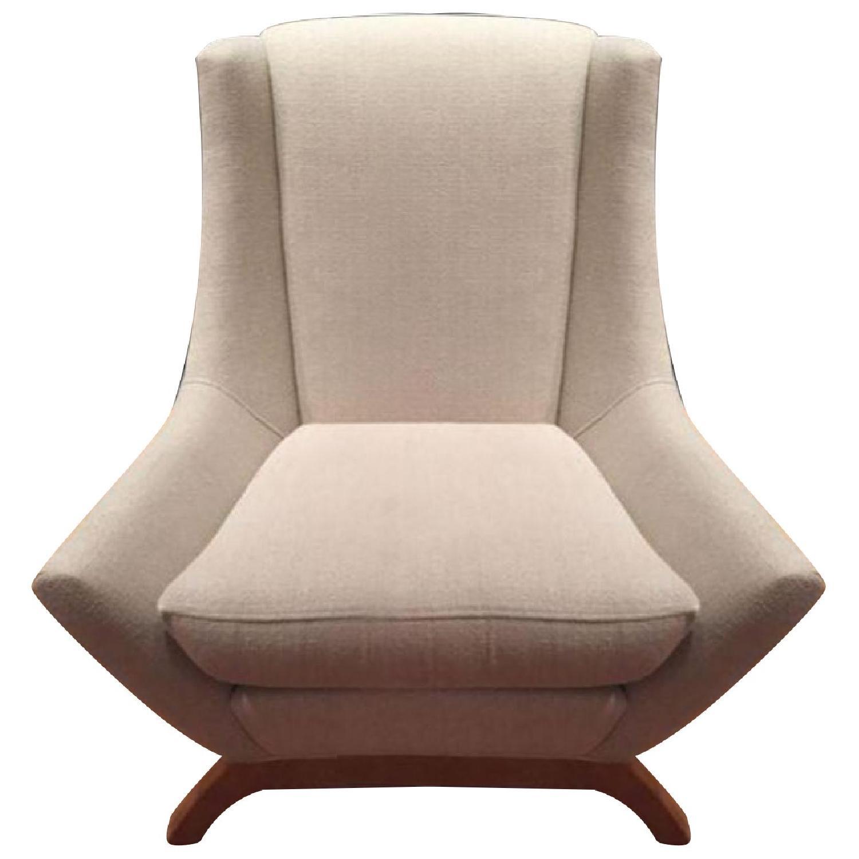 ABC Carpet & Home Dwell Studio Jensen Oatmeal Armchair - image-0