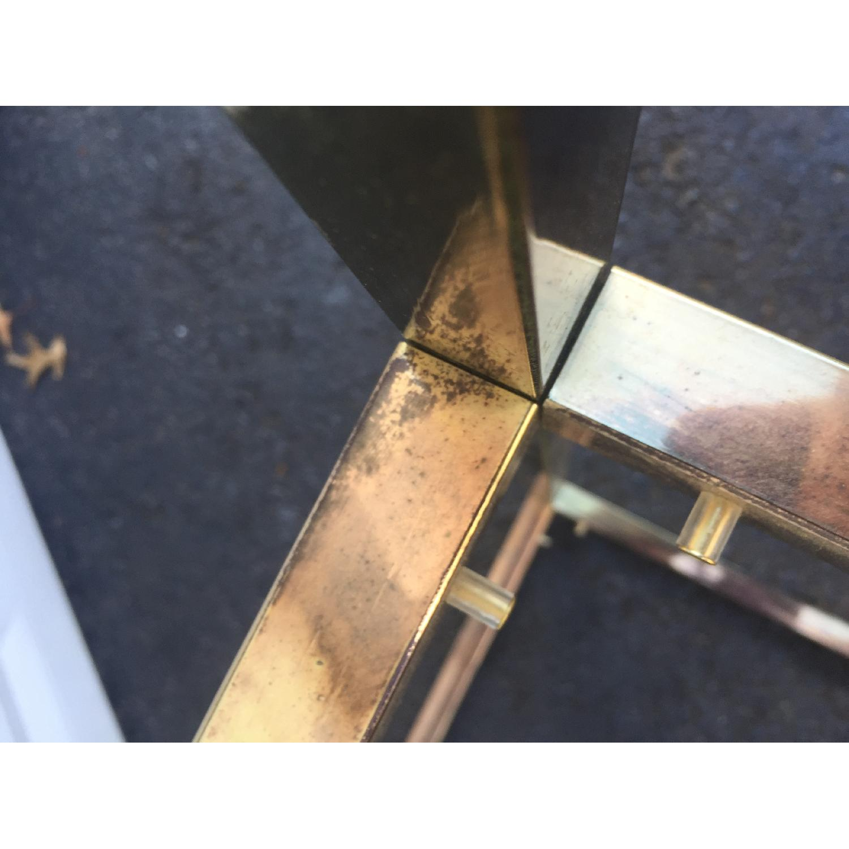 Mid-Century Modern Brass Etagere - image-5