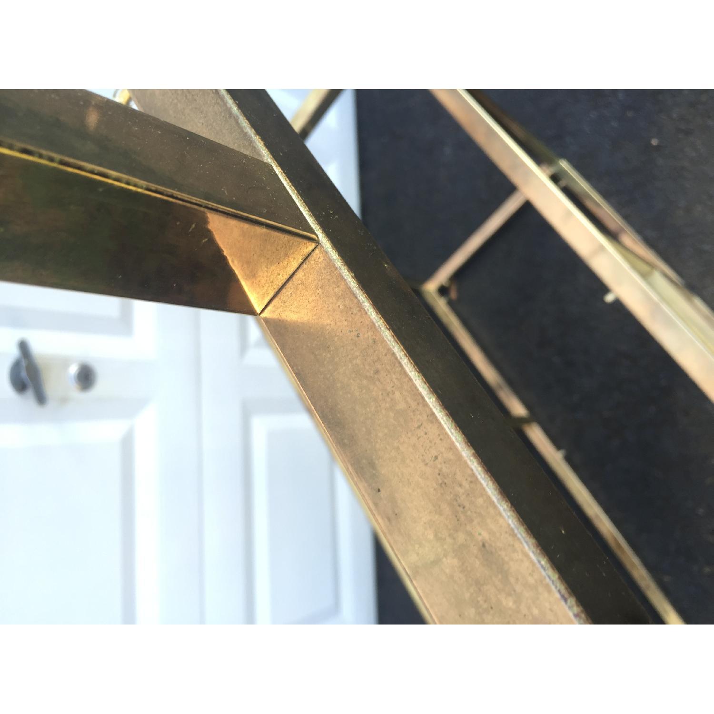 Mid-Century Modern Brass Etagere - image-6