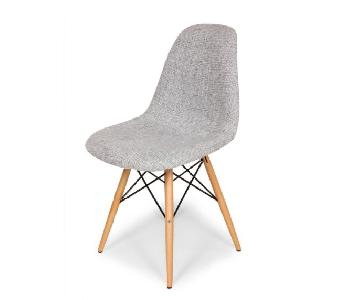 Sit Down NY Dowel Leg Side Chair in Grey - 2 Available