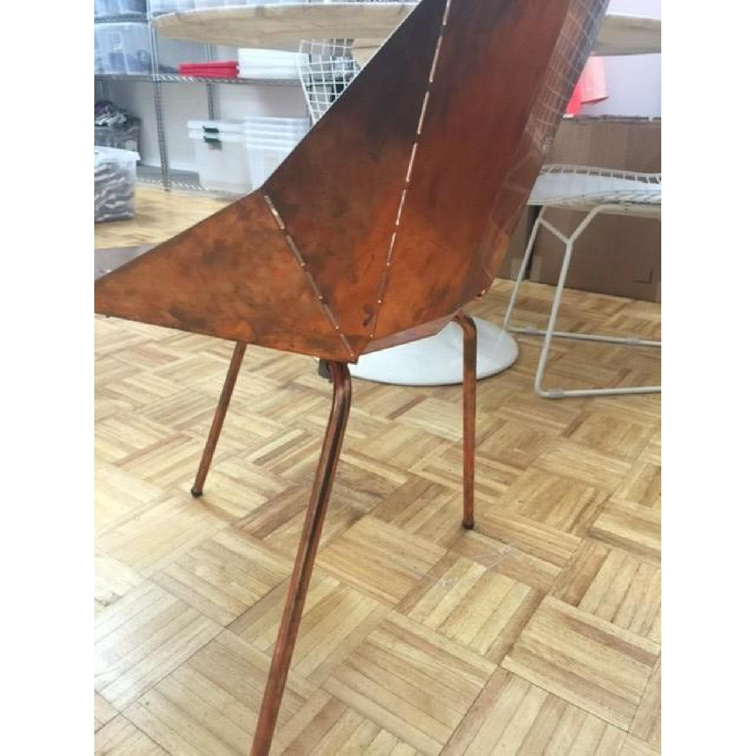 Blu Dot Copper Plate over Steel Accent Chair - 2 Available - image-5