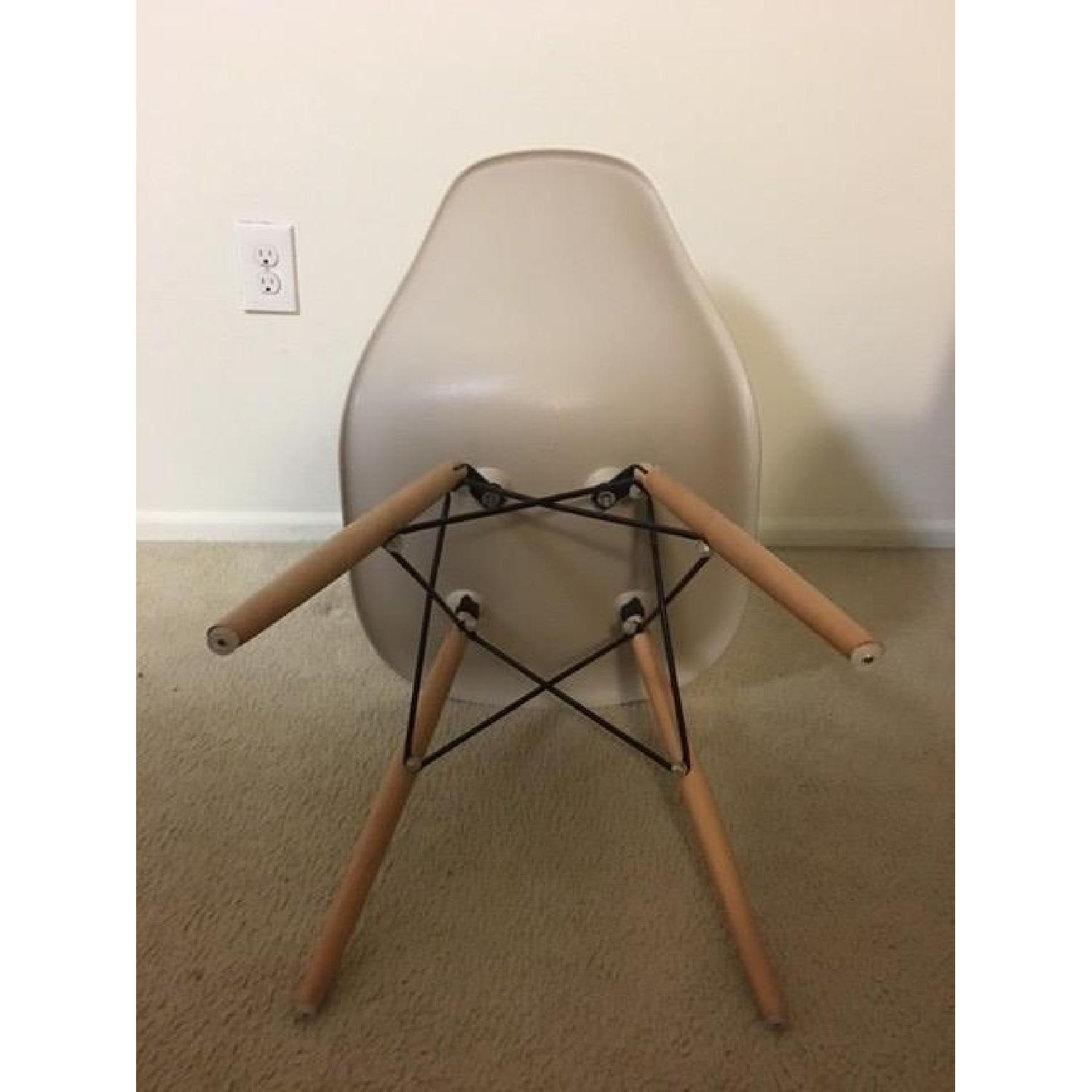 Gold Sparrow Lucas Beige Wood Grain Accent Chairs - Set Of 4 - image-6