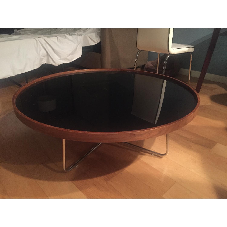 Mahogany Round Coffee Table - image-1