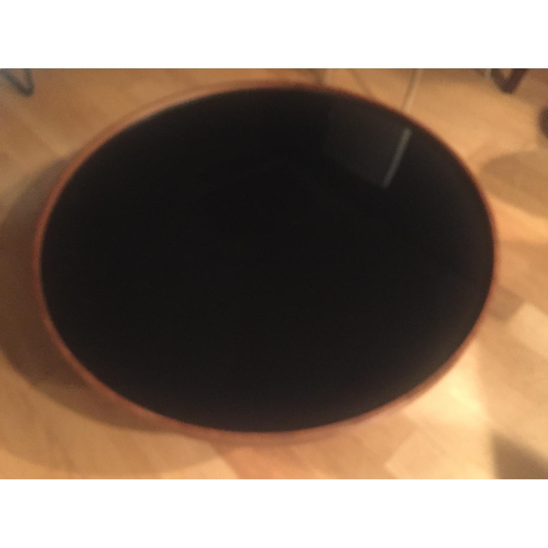 Mahogany Round Coffee Table - image-2