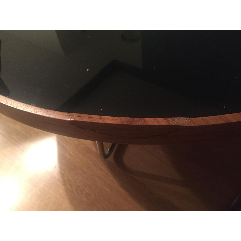 Mahogany Round Coffee Table - image-3
