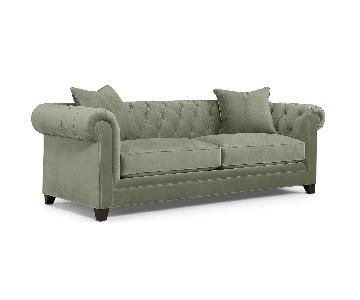 Macy's Martha Stewart Tufted Sofa