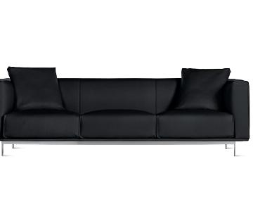 Design Within Reach Bilsby Leather Sofa