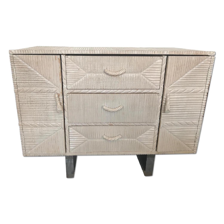 Vintage Beige Dresser