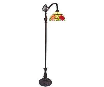 Amora Tiffany Style Floor Lamp