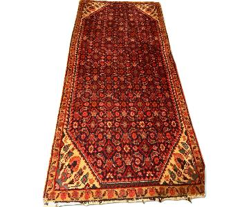 Antique Red Wool Rug