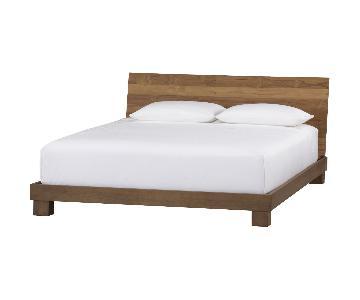 CB2 Dondra Teak Full Bed
