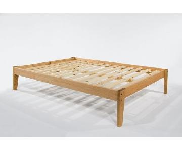 Pennsylvania Red Oak Platform Full Size Bed