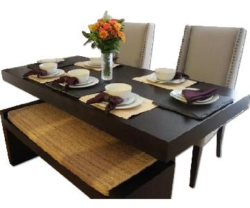 West Elm 4-Piece Dining Set