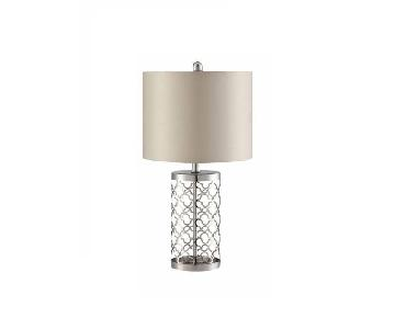 Coaster Champagne Contemporary Table Lamp