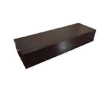 Poliform Sintesi High Gloss Lacquered Low Storage Unit