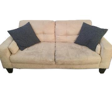 Haining Gelin Beige 2 Seater Sofa