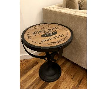 Pier 1 Vintage-Inspired Wine Bar Accent Table