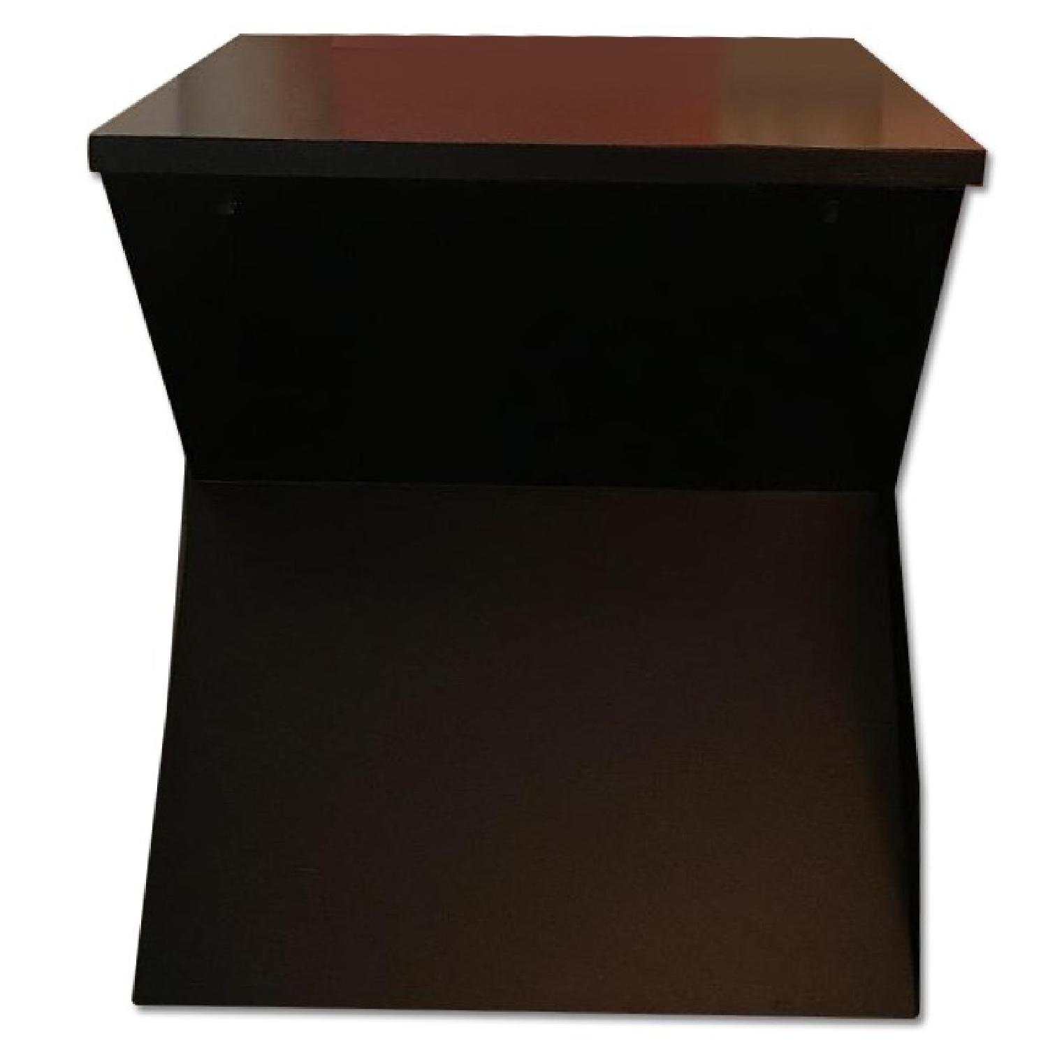 Houzz Black Side Table