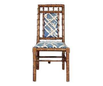 Ecker-Shane Faux Bamboo Dining Side Chair