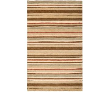 Safavieh Hand-knotted Tibetan Striped Wool Rug