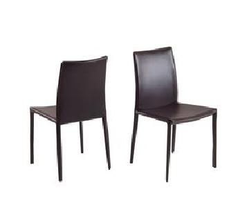 M-Collection Maria Chair in Dark Brown