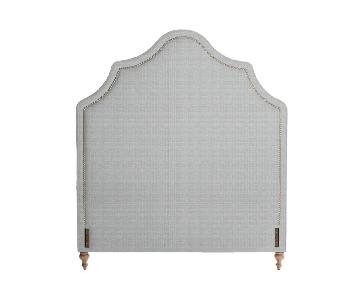 Serena & Lily Pondicherry Full Headboard in Washed Linen
