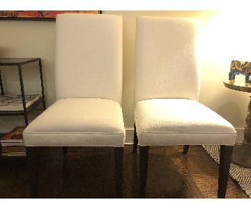 Restoration Hardware Hudson Parsons Fabric Side Chair