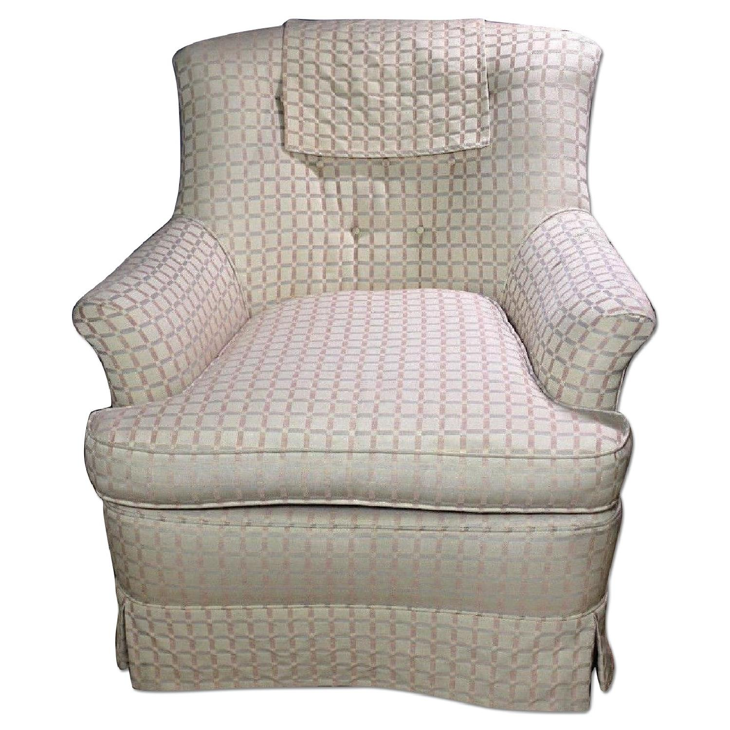Upholstered Lounge Chair/Armchair