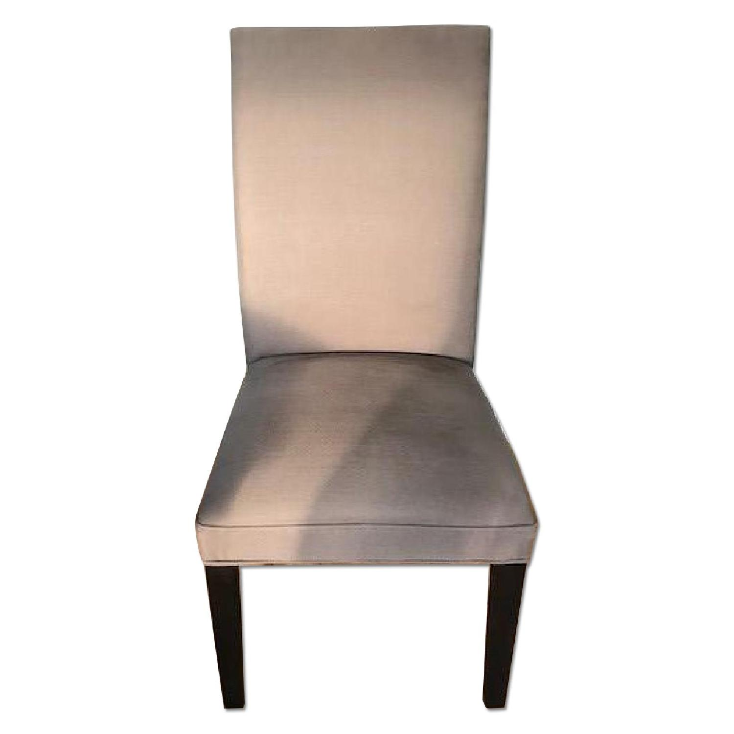 restoration hardware hudson parsons fabric side chair. Black Bedroom Furniture Sets. Home Design Ideas