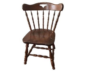 Colonial Hardwood Dining Chair