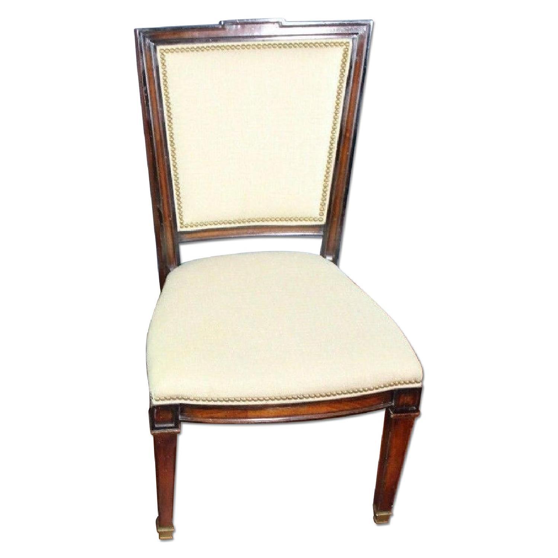 Neoclassical Fruitwood Side Chair Armchair Aptdeco