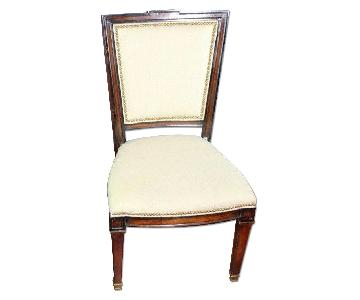 Neoclassical Fruitwood Side Chair/Armchair