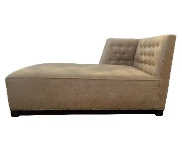 Holly Hunt Chaise Lounge