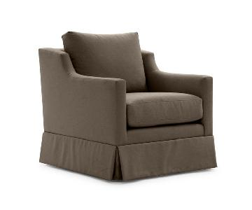 Mitchell Gold + Bob Williams Gigi Skirted Swivel Chair