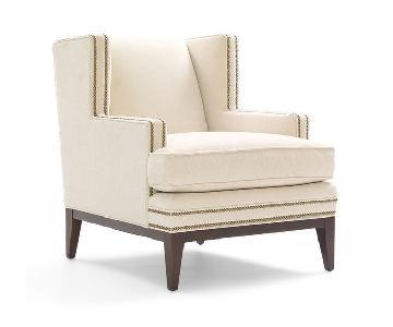 Mitchell Gold + Bob Williams Tasha Chair w/ Nailhead