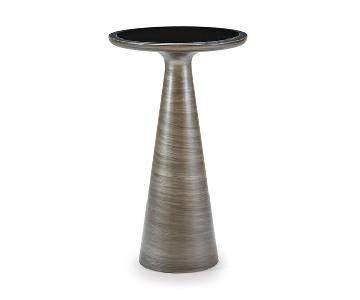 Mitchell Gold + Bob Williams Addie Pull Up Table in Pewter