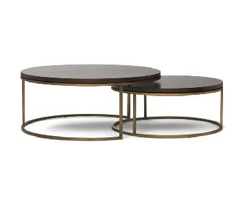 Mitchell Gold+ Bob Williams Bassey Nesting Cocktail Table