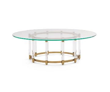 Mitchell Gold + Bob Williams Beverly Round Cocktail Table