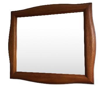 Broyhill Wood Framed Mirror