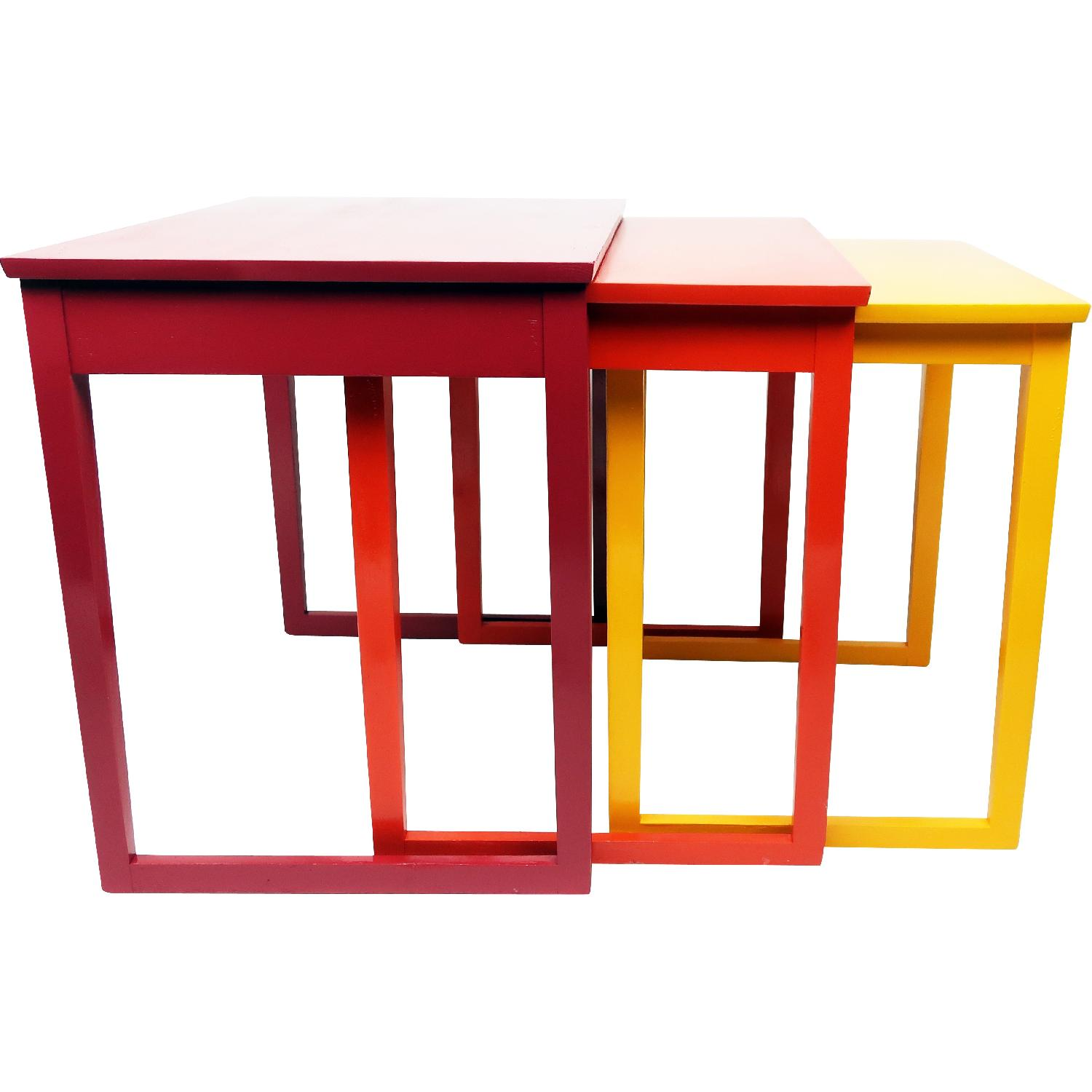 Paul Frankl Style Nesting Tables