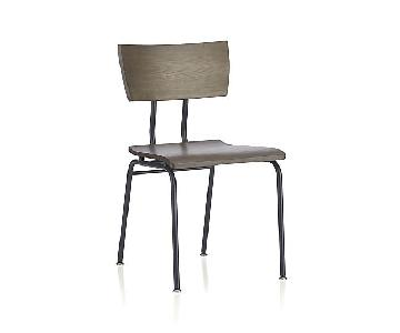 Crate & Barrel Industrial Style Dining Chair