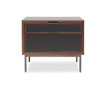 Mitchell Gold + Bob Williams Turino 2 Drawer Side Table