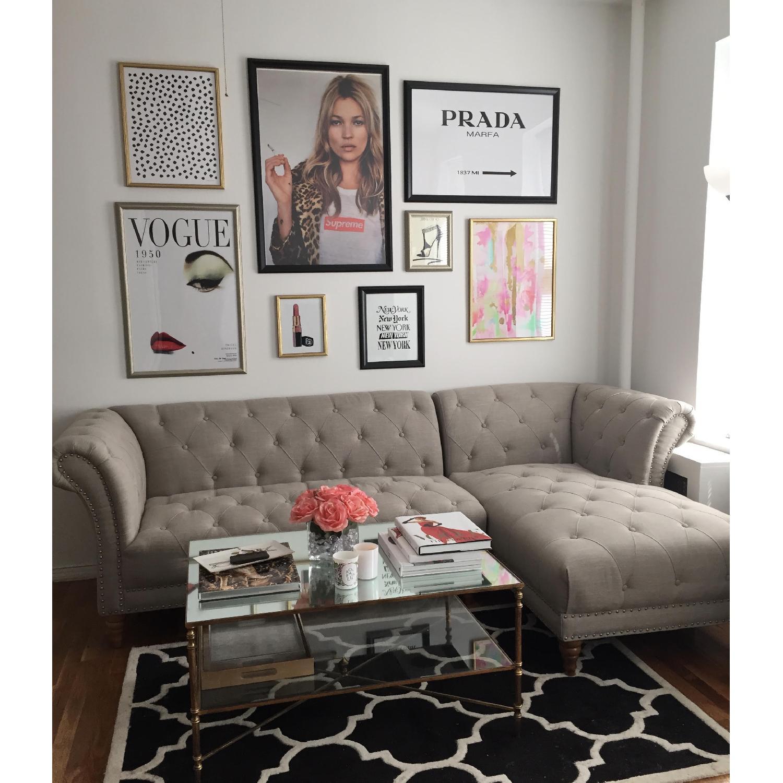joss main khloe tufted sectional sofa